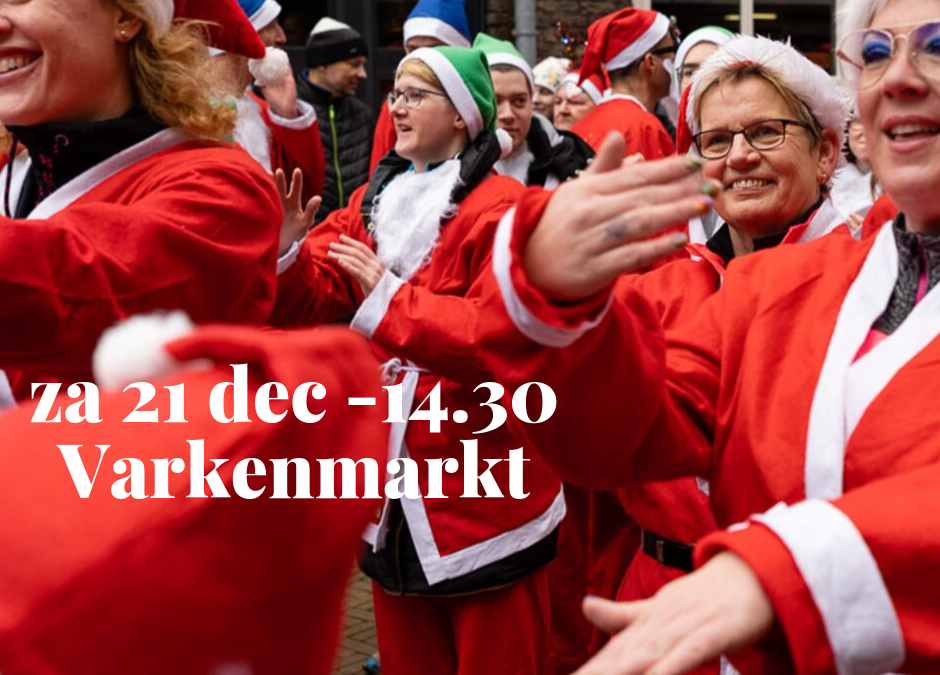 Nieuw: start om 14.30 uur – en op Varkenmarkt!